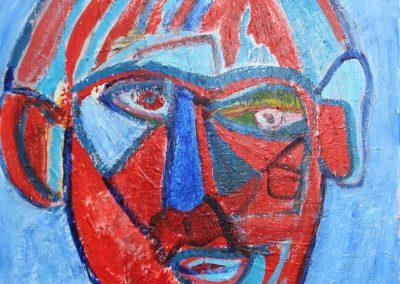 Segmented Face