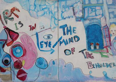 Art is in The Eye-Mind of The Beholder